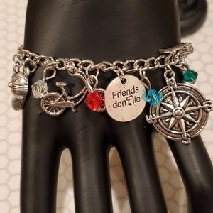 NEW Stranger Things charms braclet adjustable